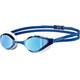 arena Python Mirror Okulary pływackie niebieski